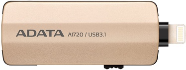 Adata i-Memory AI720 Flash Drive 32GB USB 3.1 Gold