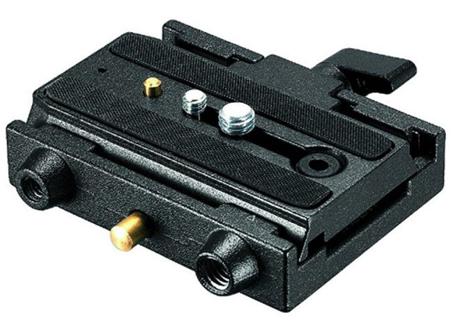 Manfrotto Quick Release Adapter with Sliding Plate