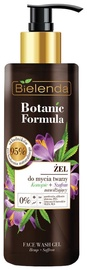 Makiažo valiklis Bielenda Botanic Formula Hemp Oil + Saffron Face Wash Gel, 200 ml