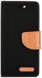Forcell Canvas Flexi Flip Book Case For Xiaomi Redmi 5A Black