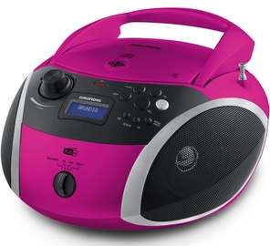 Grundig GRB 4000 CD Player Pink