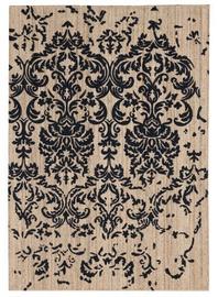 Ковер FanniK Muratti Black/Beige, многоцветный/песочный, 140 см x 200 см