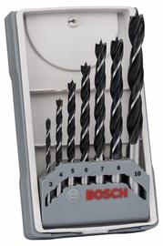 Bosch Spiral Wood Drill Bit Set 7pcs