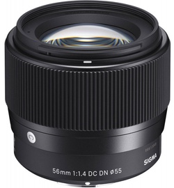 Objektiiv Sigma 56mm f/1.4 DC DN Contemporary For Sony