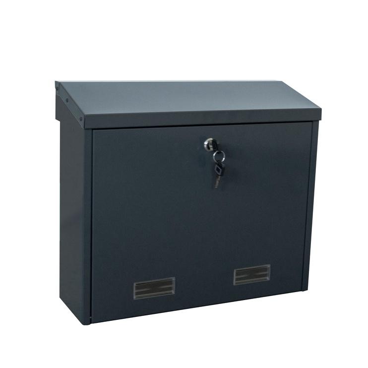 Pašto dėžutė Glori ir Ko PD92M, antracito spalvos