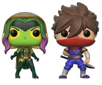 Funko Pop! Games  Marvel vs. Capcom Gamora vs Strider 2Pack
