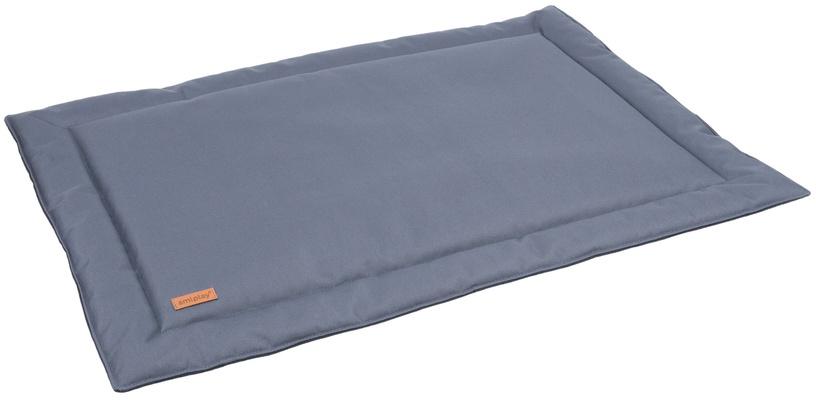 Лежанка Amiplay Country Dog Waterproof Mat L 82x60x1.5cm Gray