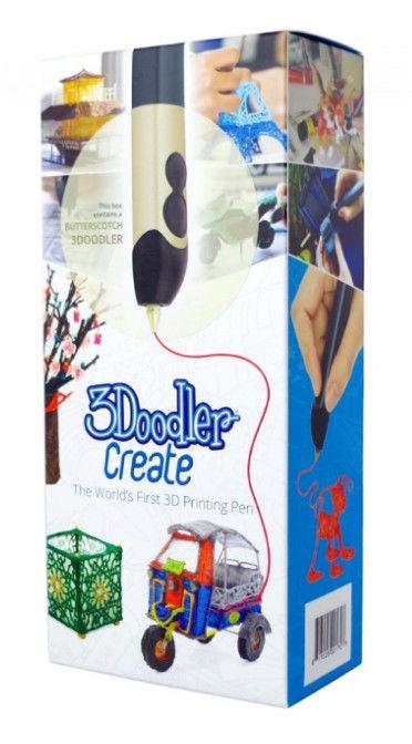 3D rašiklis 3Doodler Create Butterscotch