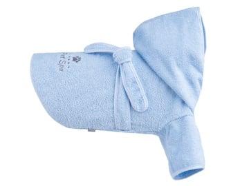 Amiplay Spa Bath Housecoat For Dog 35cm Maltese Blue