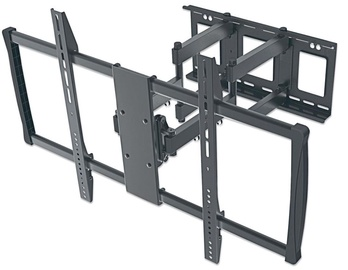 Televizoriaus laikiklis Manhattan Wall Mount for TV 60-100'' Black