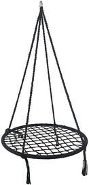Võrkkiik Royokamp Openwork 1031460, must, 80 cm