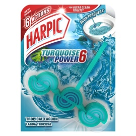 WC-SEEP HARPIC TURQUOISE POWER 6 39G