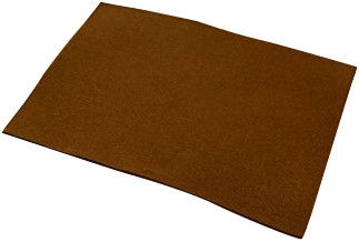 Folia Felt Sheet 150 g/m2 20x30 10pcs Brown