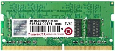 Transcend 4GB DDR4 2133MHz CL15 SO-DIMM TS512MSH64V1H