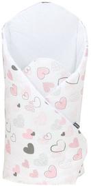 Детский спальный мешок MamoTato Hearts, розовый, 78 см