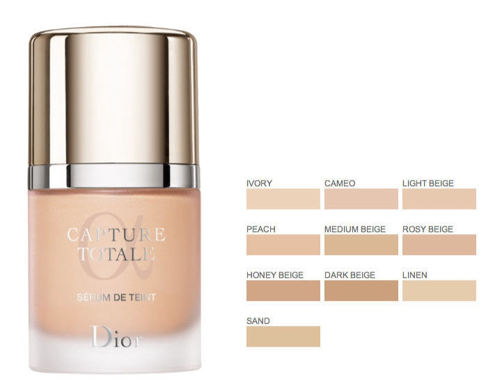 Christian Dior Capture Totale Serum Foundation SPF25 30ml 30
