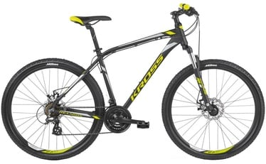 "Kross Hexagon 5.0 XL 29"" Black Yellow Silver Matte 2019"