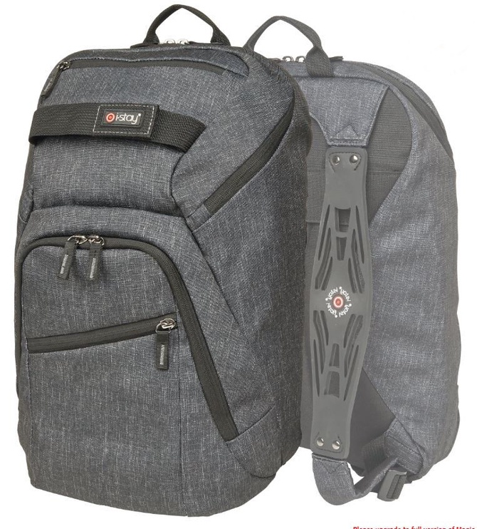 "i-stay Notebook Backpack For 12 -15.6"" Grey"