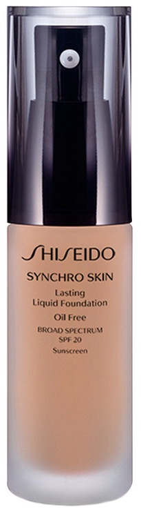 Shiseido Synchro Skin Lasting Liquid Foundation SPF20 30ml N3