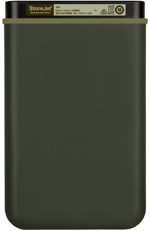 "Transcend 2TB 2.5"" StoreJet 25M3 Military Green TS2TSJ25M3G"