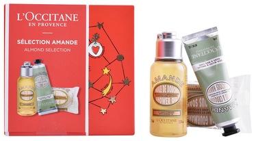 L´Occitane Almond Shower Oil 75ml + 50g Delicious Soap + 30ml Delicious Hands