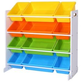 Стеллаж Songmics Kid's Toy Storage Unit, 29.5 см x 86 см x 86 см