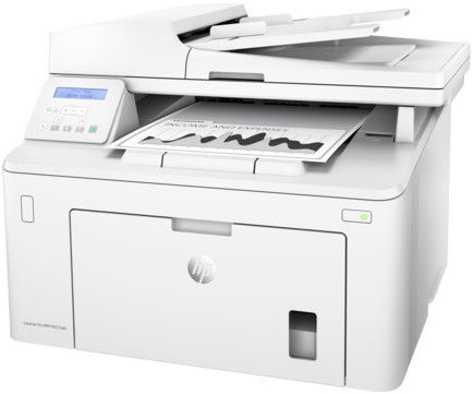 Многофункциональный принтер HP MFP M227sdn, лазерный