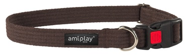 Kaklasiksna Amiplay 35-52x2cm, brūna