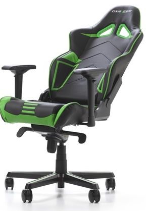Žaidimų kėdė DXRacer Racing Pro R131-NE Gaming Chair Black/Green