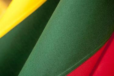 Tautinė Lietuvos vėliava, kabinama ant koto, 170 x 100 cm