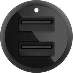 Lādētājs Belkin Car Charger 24W + USB-A to Lightning Cable Black