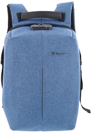 Tellur Antitheft V2 Notebook Backpack 15.6'' Blue