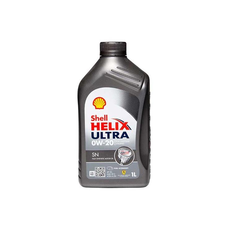 Shell Helix Ultra SN Motor Oil 0W-20 1l