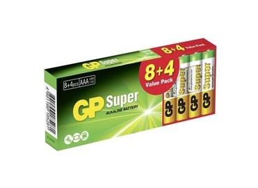 Elementai GP Super Alkaline AAA, 8+4 vnt.