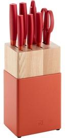 Zwilling Knife Set 8pcs Red