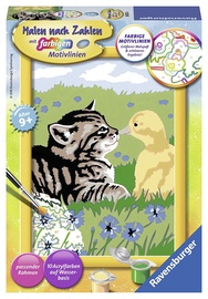 Ravensburger Painting By Numbers Animal Friendship 280254