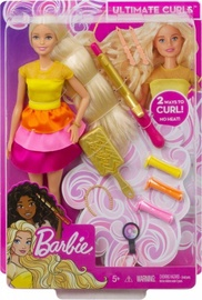 Lelle Mattel Barbie Ultimate Curls GBK24