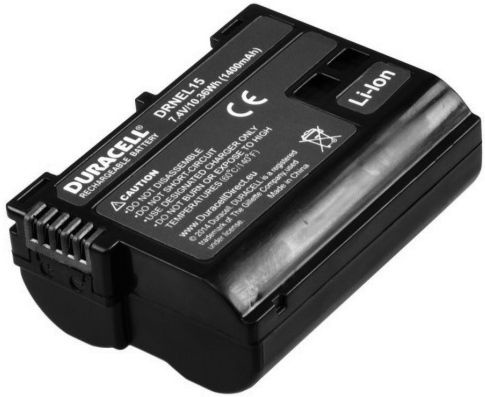 Duracell Premium Analog Nikon EN-EL15 Battery 400mAh