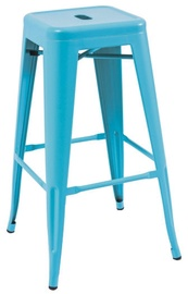 Signal Meble Hoker Long Bar Stool Blue