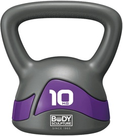Body Sculpture Kettlebell BW117 10kg Grey/Purple