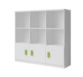 Idzczak Meble Smyk 11 Shelf 135x135cm White/Green