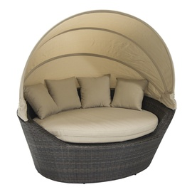Dīvāns Home4you Mini Muse With Canopy Dark Brown