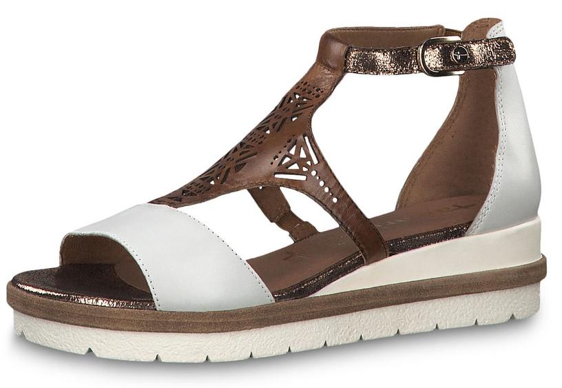 Tamaris Eda Healed Sandal 1-1-28228-22 White Combination 38