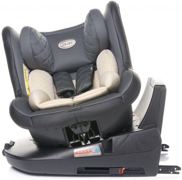 Automobilinė kėdutė 4Baby Roll-Fix Black, 0 - 18 kg