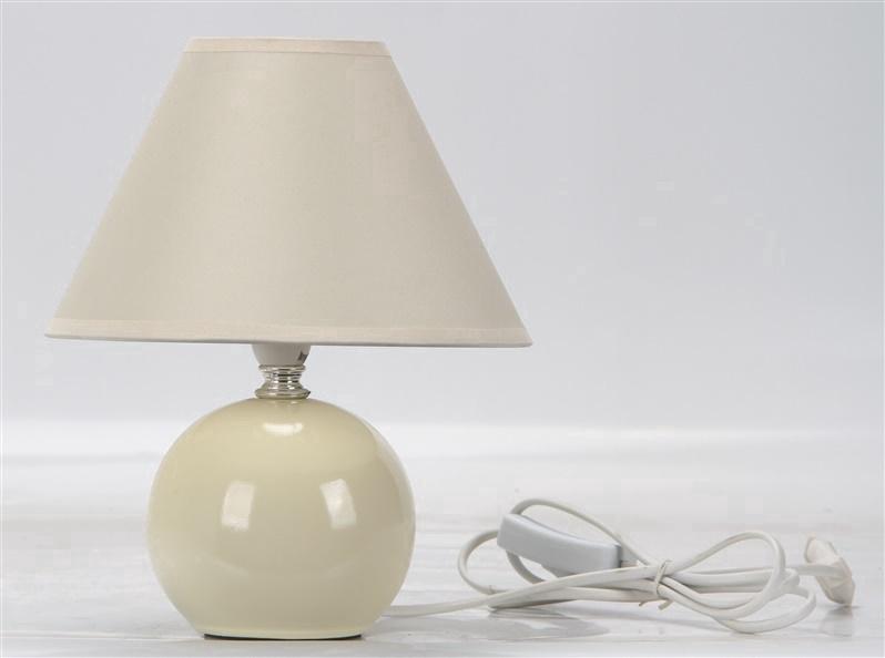 Galda lampa D1292 40W E14, ziloņkaula