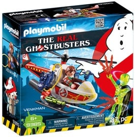 Playmobil Ghostbusters Venkman With Helicopter 9385