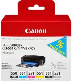 Canon PGI-550/CLI-551 Multipack PGBK/C/M/Y/BK/GY