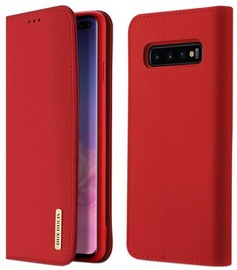 Dux Ducis Skin Pro Bookcase For Samsung Galaxy S10 Red