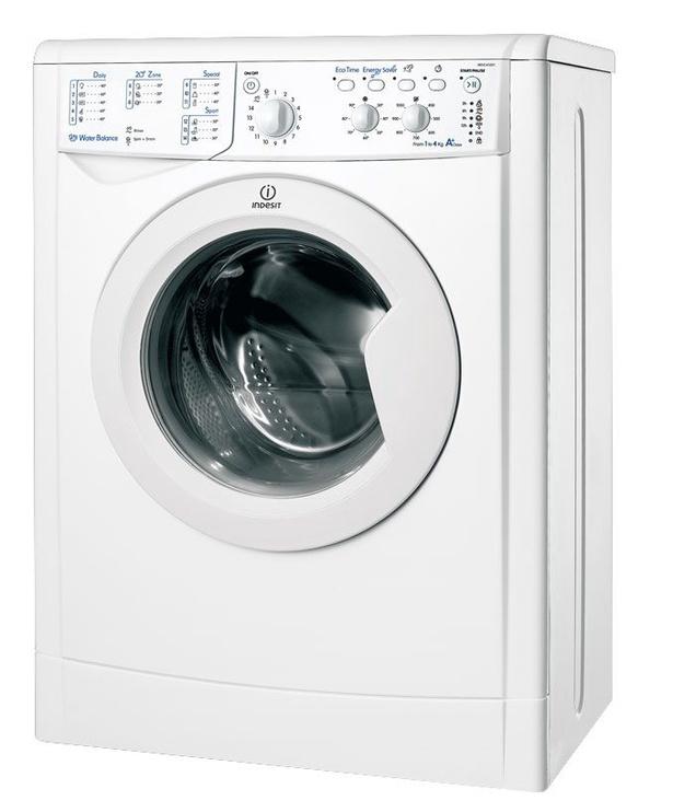 Skalbimo mašina Indesit IWUD-41051 C ECO(EU)