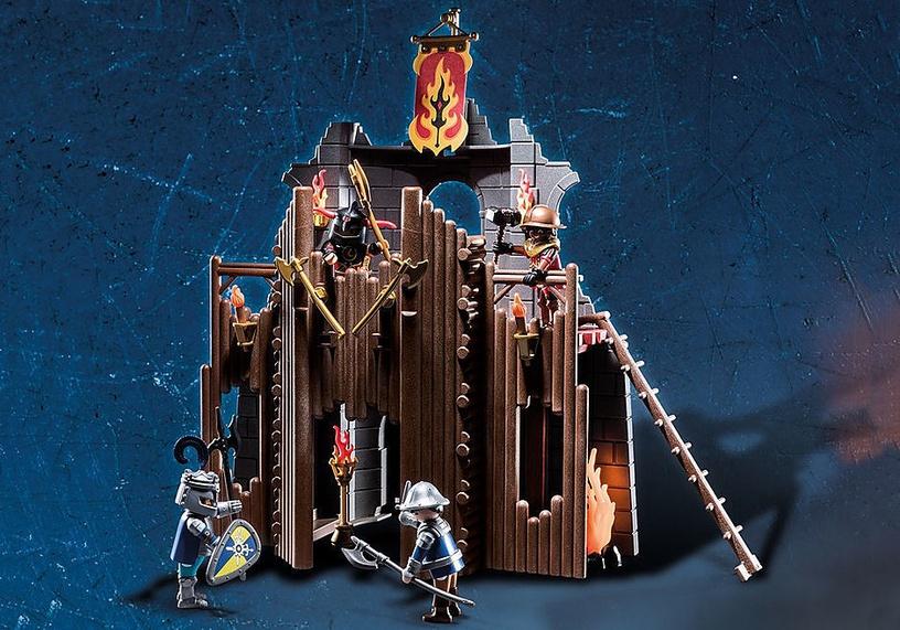 Playmobil Novelmore Burnham Raiders Flaming Ruins 70539